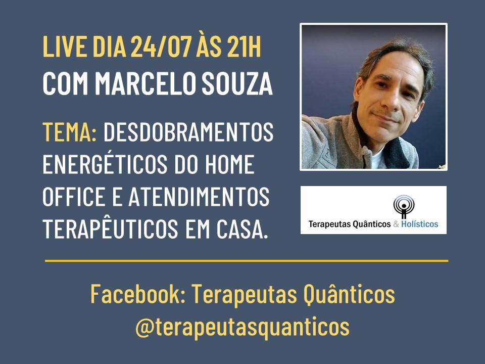 LIVE 24/07/2020 COM MARCELO SOUZA